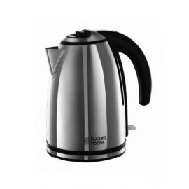 Russell Hobbs Henley Polished Silver Kettle 3Kw RH23601