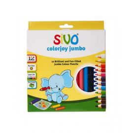 Sivo 12Piece Colorjoy Jumbo Pencils