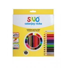 Sivo 26Piece Full Size Colorjoy Riche Color Pencils