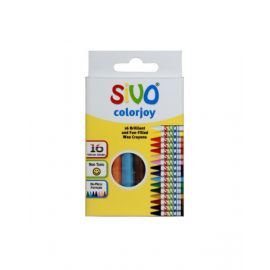 Sivo 16Piece Colorjoy Round Wax Crayons 90mm