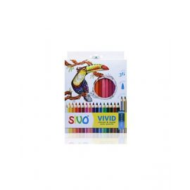 Sivo 36Piece Full Size Vivid 4Mm Round Color Pencil