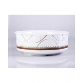 """Orchid Spring Gold Casserole Bowl 8"""" Tcsprg562"""