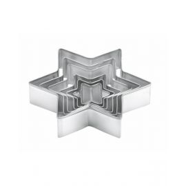 """Tescoma Set 6 Cookie Cutters Star Shaped """"Delicia"""" TES631364"""