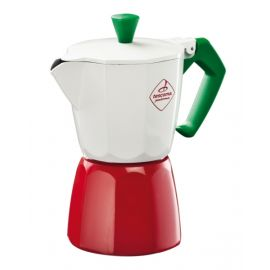 """Tescoma Coffee Maker, 6 Cup """"Paloma Tricolore"""" TES647036"""