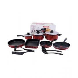 Tefal Tempo Flame 14 Piece Cookware Set - C5489382
