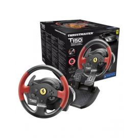 Thrustmaster T150 Ferrari Force Feedback Wheel (Ps4/Ps3/Pc Dvd) - Red - Tmwhlt150Frariffb