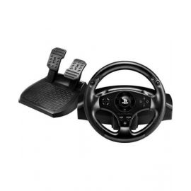 Thrustmaster T80 Racing Wheel W/Pedals For Ps3/Ps4 - Black - Tmwhlt80