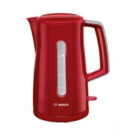 Bosch PlasticCordless Water Kettle Red -TWK3A034GB