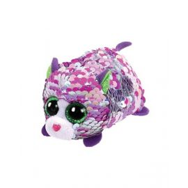 Teeny Flippable Cat Lilac Purple 2In Ty42408