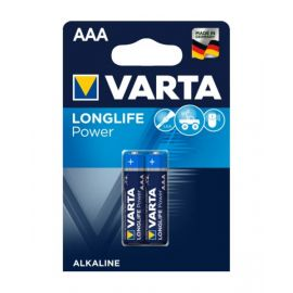 VartaLonglife Power AAA Battery - Pack of 2, VA559701