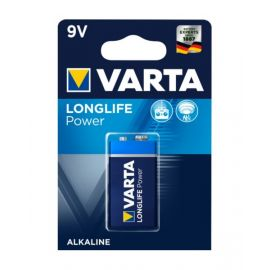 VartaLonglife Power Alkaline 9V Battery, VA559862