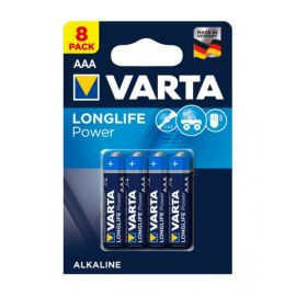 VartaLonglife Power AAA Battery - Pack of 8, VA573820