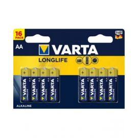 VartaLonglife AA Battery - Pack of 16, VA592111