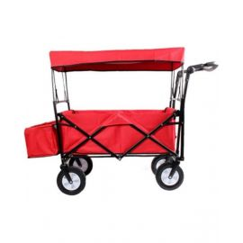 WAGON TROLLEY (RED) - W875560007147