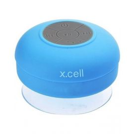 Xcell Bluetooh Shower Speaker , Built-in Mic ,Splash resistant ,15w PMPO XLSP100BLU